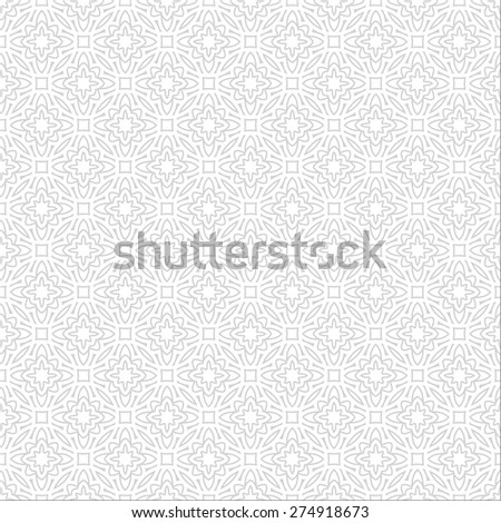 Modern geometric seamless pattern in arabian style. Can be used for backgrounds and page fill web design - stock vector