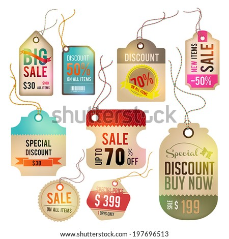 Modern glossy brown business retail and sale marketing promotion infographic badge tag and labels for quality branding design with sample text, create by vector  - stock vector