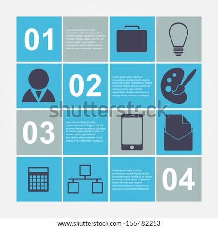 Modern infographic. Design elements  - stock vector