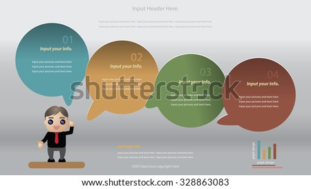 Modern infographics options banner. Vector illustration. can be used for workflow layout, diagram, number options, web design. - stock vector