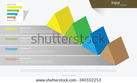 Modern isometric triangle infographic options banner. Vector illustration. can be used for workflow layout, diagram, number options, web design. - stock vector