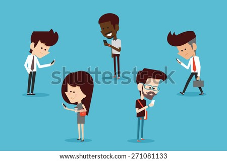 modern lifestyle. - stock vector