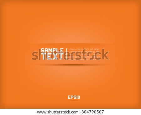 Modern minimalistic vector background for text - stock vector