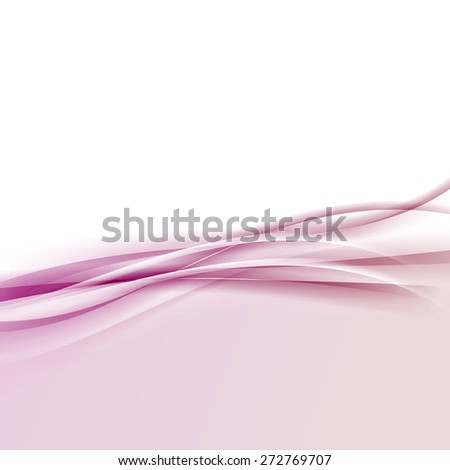 Modern pink halftone border wave background abstract transparent layout. Vector illustration - stock vector