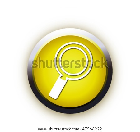 modern search optimization engine sign - stock vector