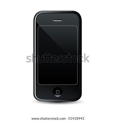 Modern smartphone - professional vector icon - stock vector