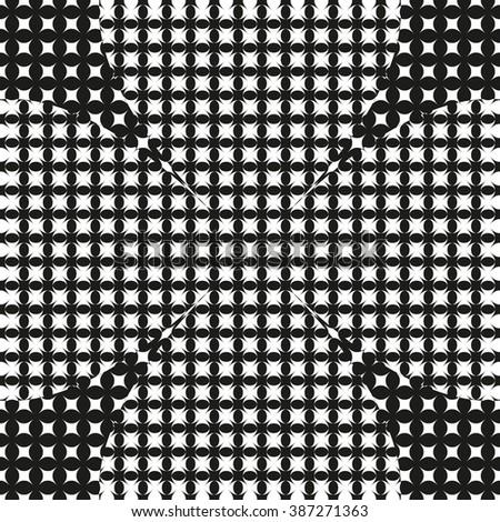 Modern stylish texture. 3D Effect. Vector pattern. - stock vector