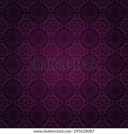 Modern wallpaper background for Your design. Template for decorating books, postcards, wallpaper, wall, web design. Asian style texture. Vector background - stock vector