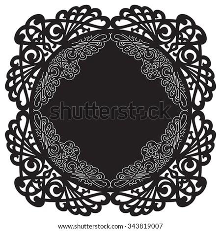 Modernist style ornaments. Illustration, vector  - stock vector
