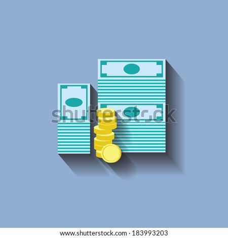 money - stock vector