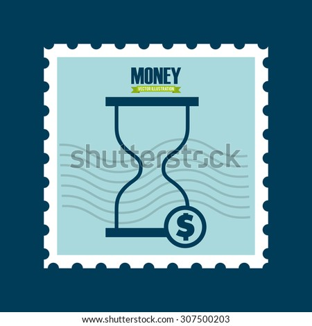 money concept design, vector illustration eps10 graphic  - stock vector