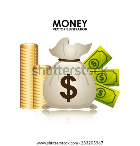money design , vector illustration - stock vector