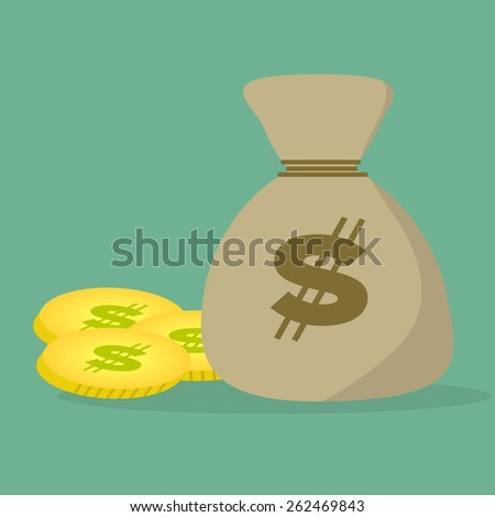 money for banking made in vector   - stock vector