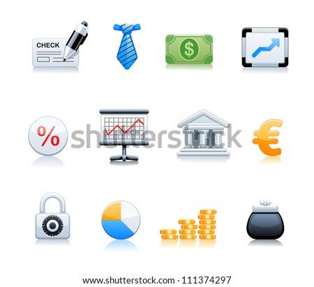 money signs - stock vector
