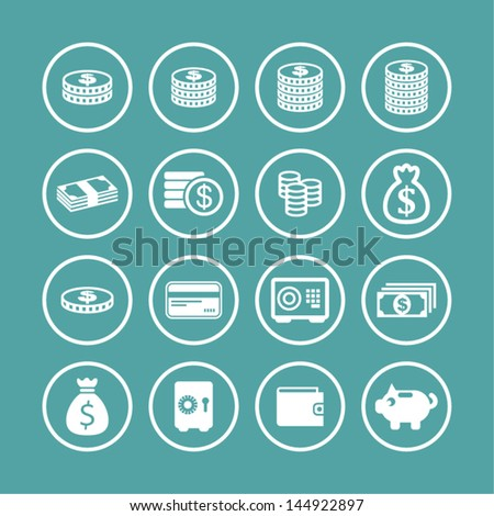 Money symbol - stock vector