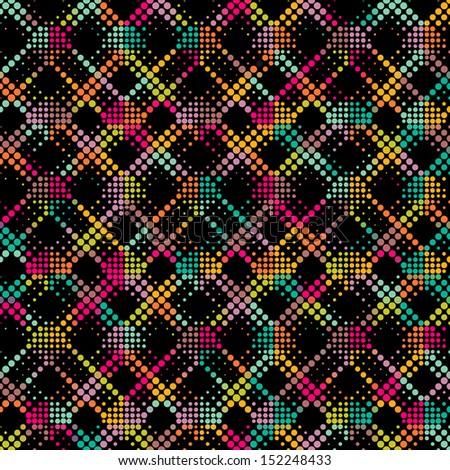Mosaic Pattern - stock vector