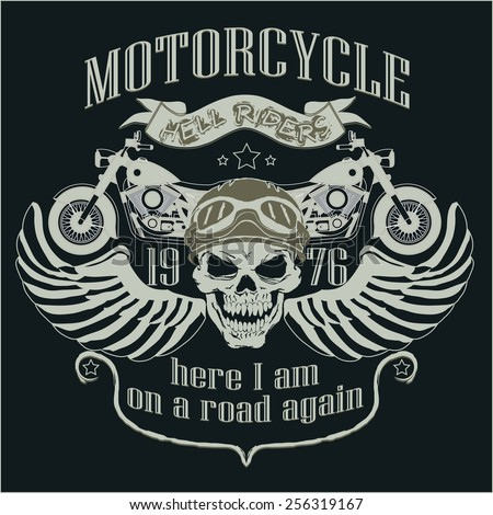 bikers skull logo - photo #10