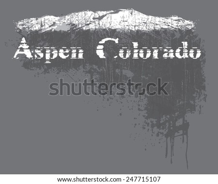mountain - stock vector