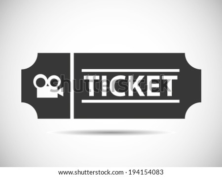 Movie Tickets - stock vector