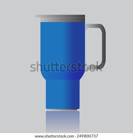 mug - stock vector