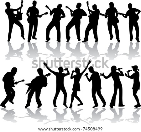 Music and song - stock vector