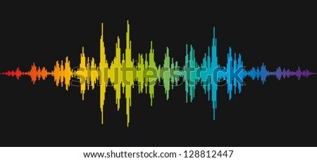 music control - stock vector