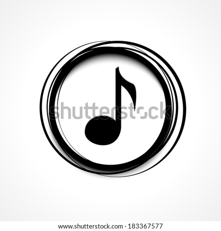 Music Icon - stock vector