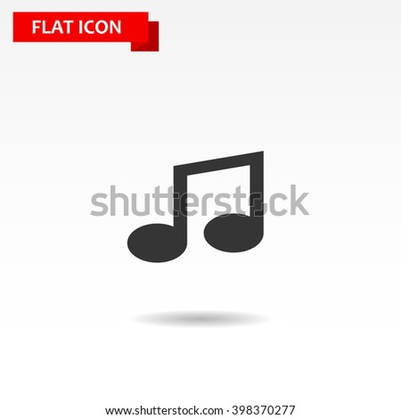 music icon, music icon art, music icon web, music icon www, music best, music icon site, music icon image, music icon shape, music icon flat, music icon sign - stock vector