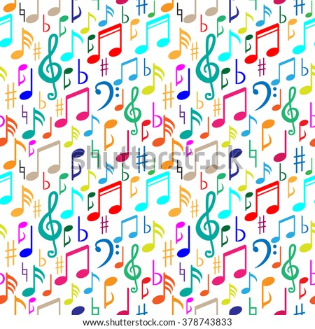 Music Pattern.Music Note Pattern.Vector Music Pattern.Decorative Music Pattern.Symbol Music Pattern.Art Music Pattern.Artistic Music Pattern.Blank Music Pattern.Repeat Music Pattern.Music Pattern. - stock vector