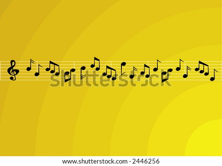 Music theme background. - stock vector