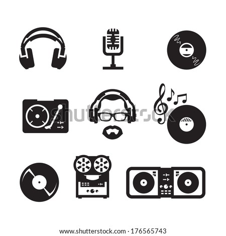 Music. Vector format - stock vector