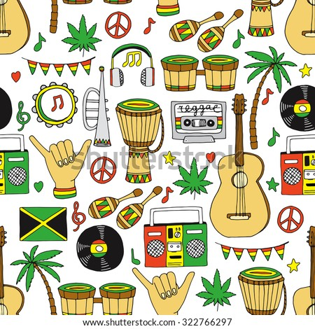 reggae an inspirational rhythm of jamaican Reggae is a music genre developed in jamaica in the late 1960s the term reggae is sometimes used in a broad sense to refer to most types of jamaican music, including ska , rocksteady and dub the term is more specifically used to indicate a particular style that originated after the development of rocksteady.