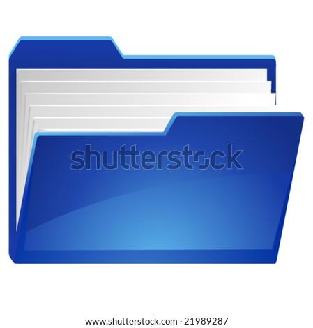 my documents icon - stock vector
