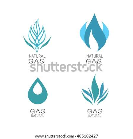 Natural gas - stock vector