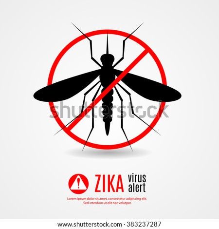 Nature, Aedes Aegypti mosquitoes with stilt target. sights signal. Ideal for informational and institutional related sanitation and care - stock vector - stock vector