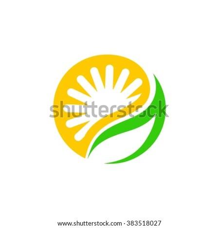 Nature Vector Logo  - stock vector