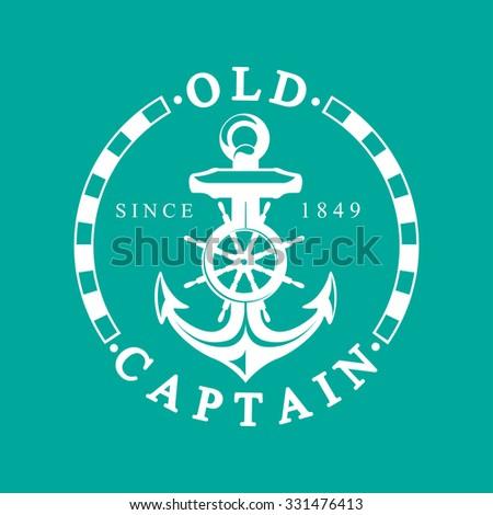 Nautical Label - stock vector