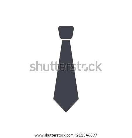 necktie , vector illustration - stock vector