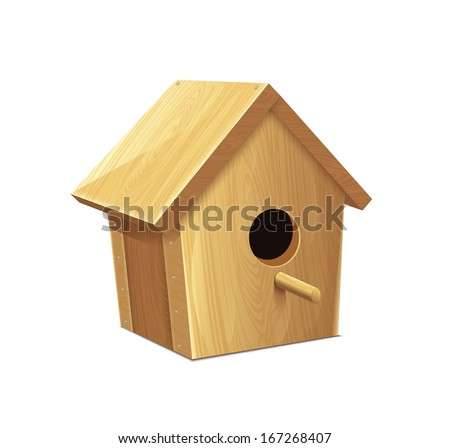 Nesting Box  - stock vector
