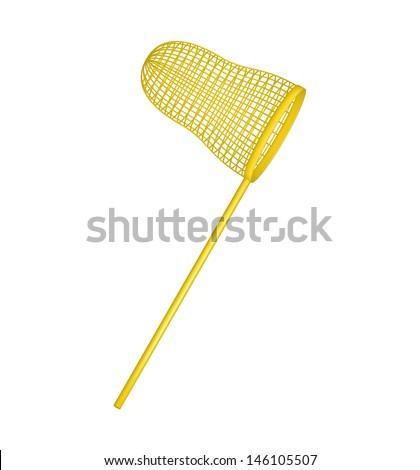 Net in golden design - stock vector