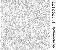 Network background, vector - stock vector