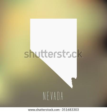 Nevada - stock vector
