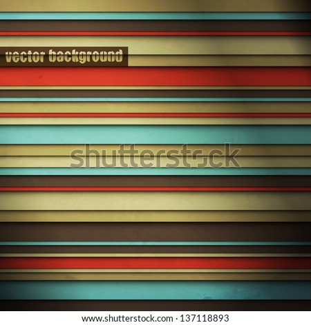 new abstract wallpaper with horizontal stripes can use like fashion background - stock vector
