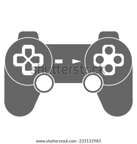 new joystick icon - stock vector