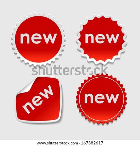 new product stickers; new product stickers; new product stickers; new product stickers; new product stickers; new product stickers; new product stickers; new product stickers; new product stickers - stock vector