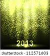 New Years Background - stock vector