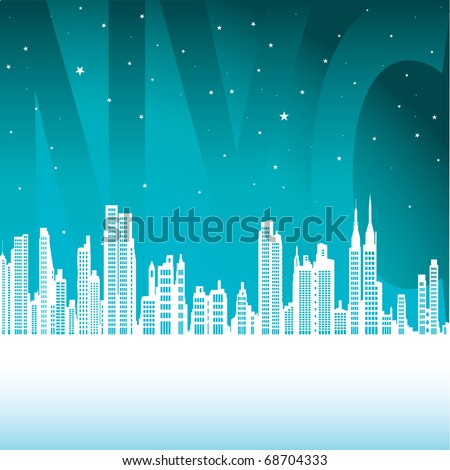 New York City - stock vector