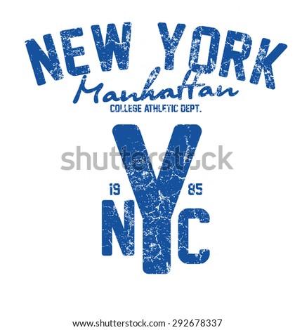new york city vector art - stock vector
