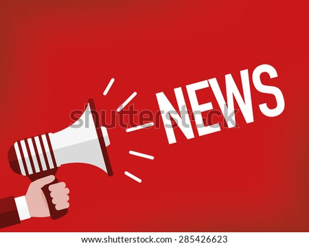 News - stock vector