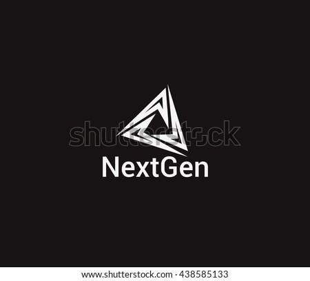 Nextgen Logo Vector Templates Design. - stock vector